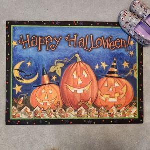NEW Happy Halloween Door Mat Floor Mat